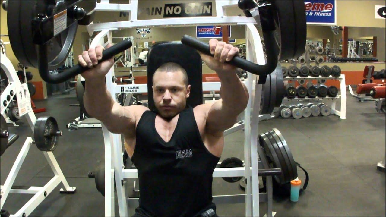 Proper Hammer Strength Incline Bench Press Execution