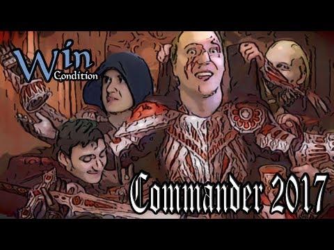 [0 ИГРА] Commander 2017 тест колод. Magic: The Gathering EDH