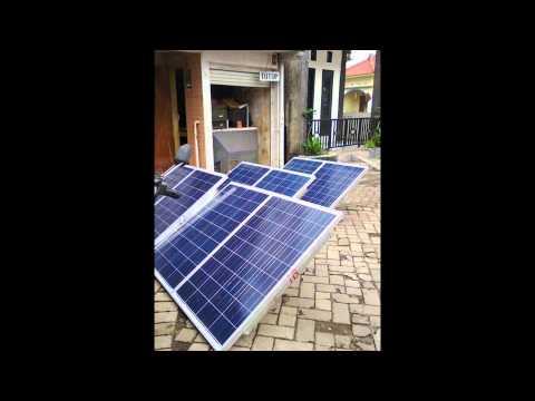 Paket PLTS Murah Untuk Rumah 1000 watt - Panel Surya, My Solar Home System