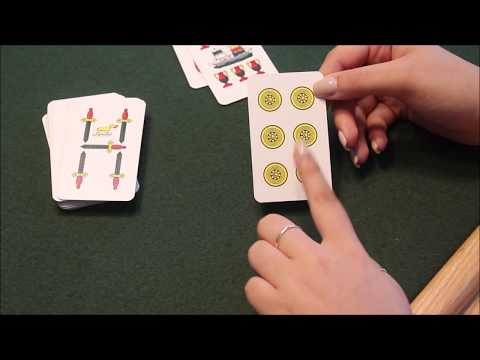 ASMR - Teaching You How to Play Scopa 🇮🇹