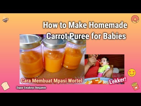How To Make Carrot Puree For Babies Youtube