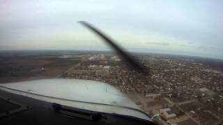Over Conoco Refinery Ponca City, Oklahoma