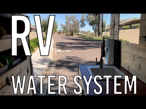 Tiny Home Stealth Camper Van Conversion WATER SYSTEM