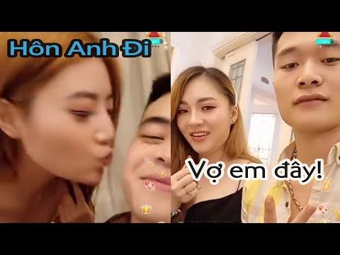 Sơn Sói Ngại Ngùng Được LinZy hôn   Hoàng Phong Khoe Vợ Người Huế   BiGo Live