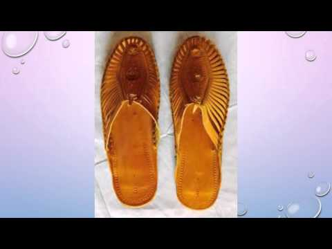 Creative Sholapur Footwear Collection