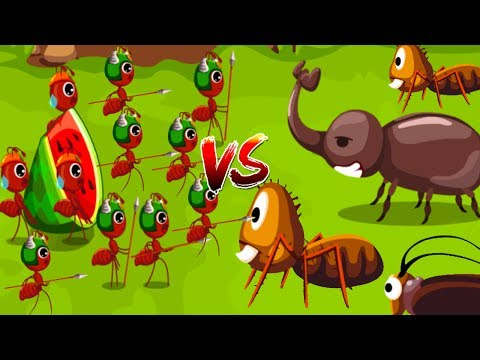 Fun Baby Panda Ant Colonies - Baby Super Fun Learn About Ant Life, Ant Solider, & Ant Queen Fun