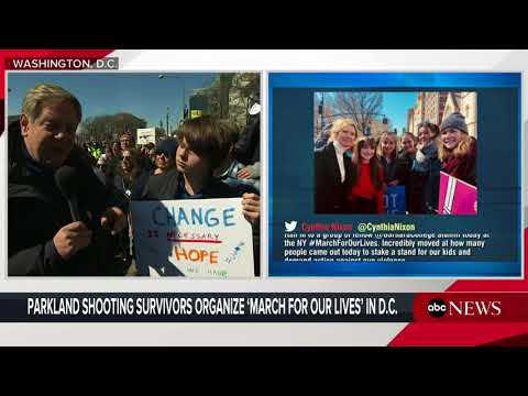 Teens march on Washington, D.C., to end gun violence