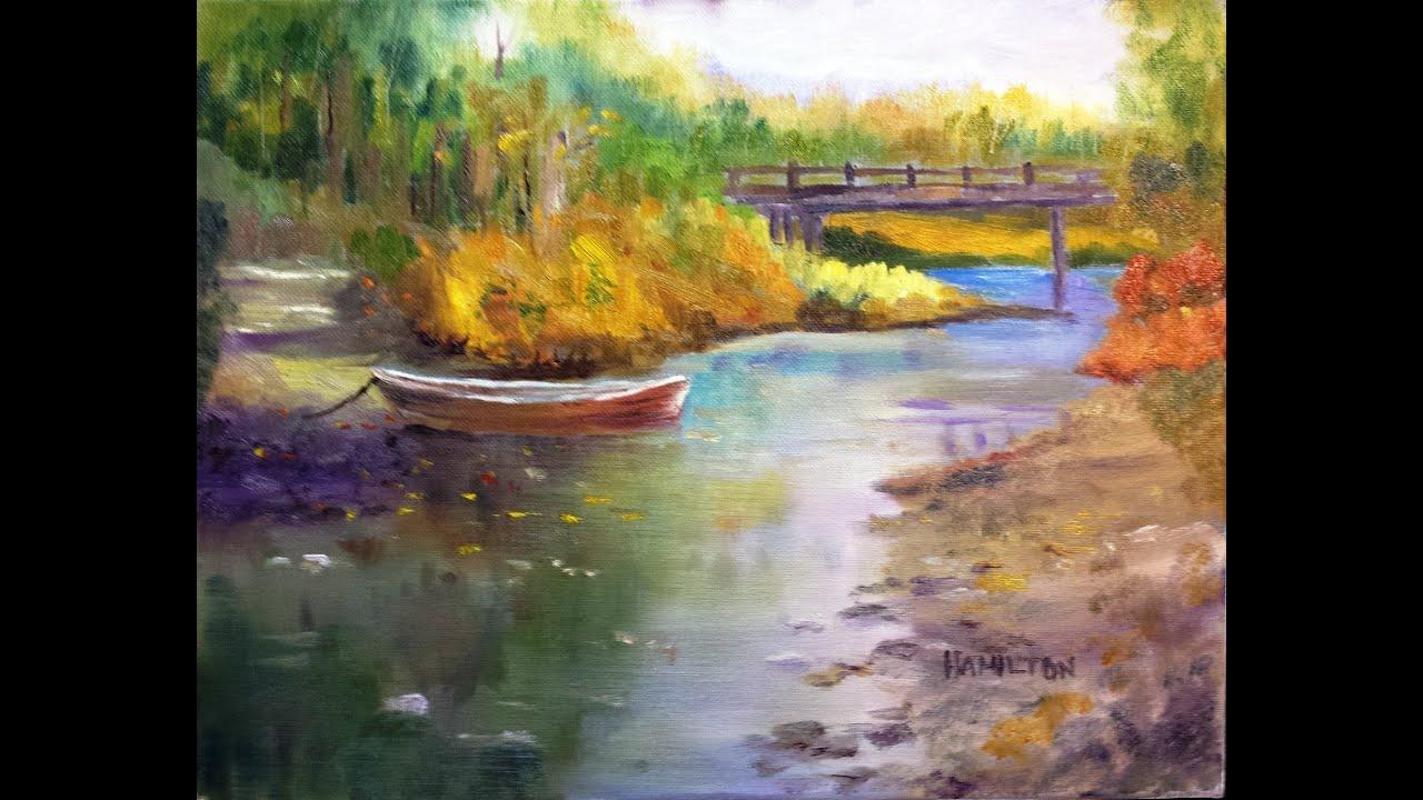 Paint Along With Larry Hamilton