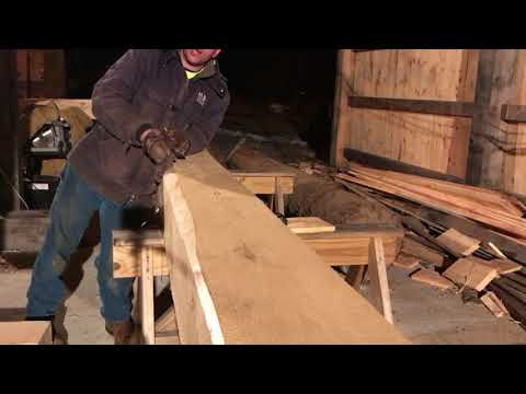 A Timber Frame Vlog #98: Guess What Started Tonight