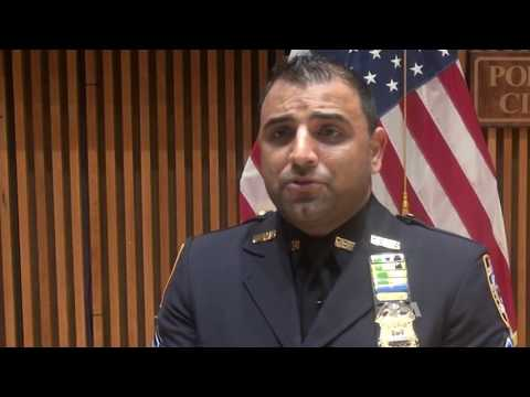 Afghan Police Officer, Hailed as a Hero in New York City