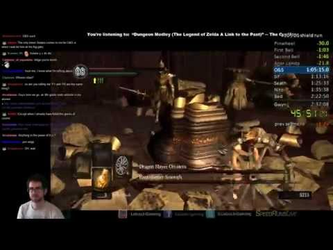 Dark Souls Shield-Only Speedrun: 1:52:45 RTA