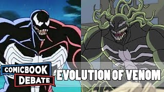 Evolution of Venom in Cartoons in 4 Minutes (2017)