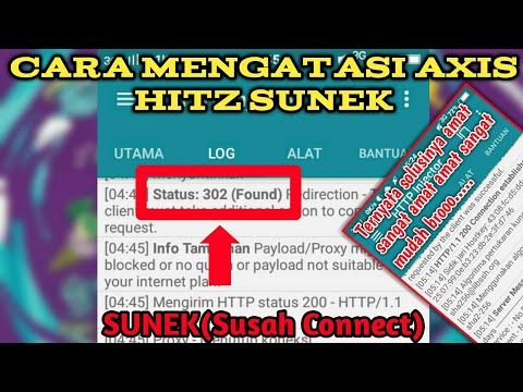 Cara Mengatasi Axis Hitz Sunek - Http Injector | Status 302 Found