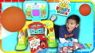 Shoot Hoops Challenge For Ryan's World Toys🏀🕹️🎮