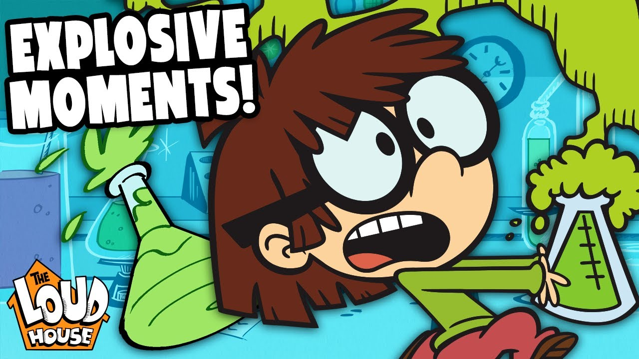 Lisa's Most EXPLOSIVE Moments + Inventions 🔥 | The Loud House