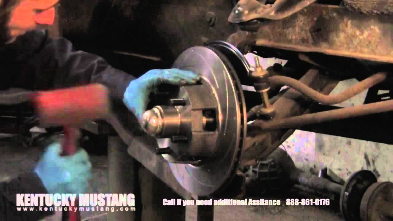 Drum to Disc Brake Conversion from Kentucky Mustang