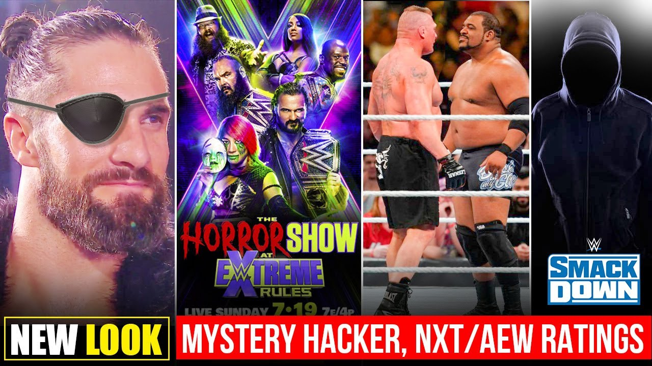 Seth Rollins New Look🔥? Mystery Hacker Plan, Extreme Poster, Lesnar Vs Keith Lee, NXT Vs AEW Ratings