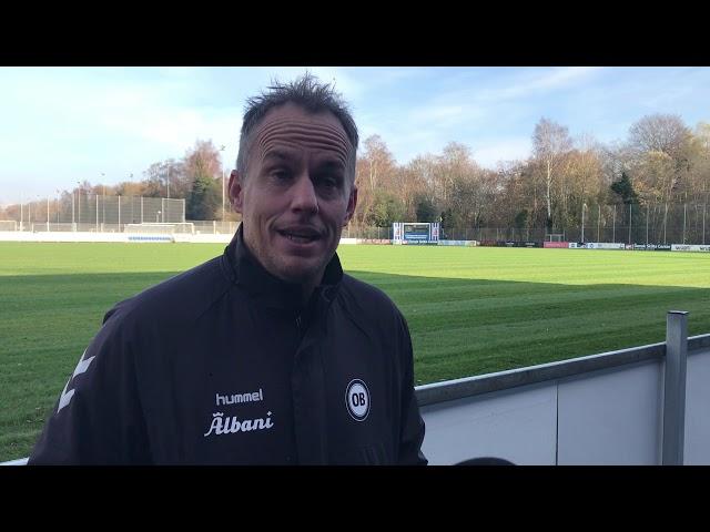 Interview med Jakob Michelsen om spillestil og Superliga-status