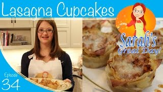 Sarah's Great Day | Episode 34 | Lasagna Cupcakes And Sleep Apnea