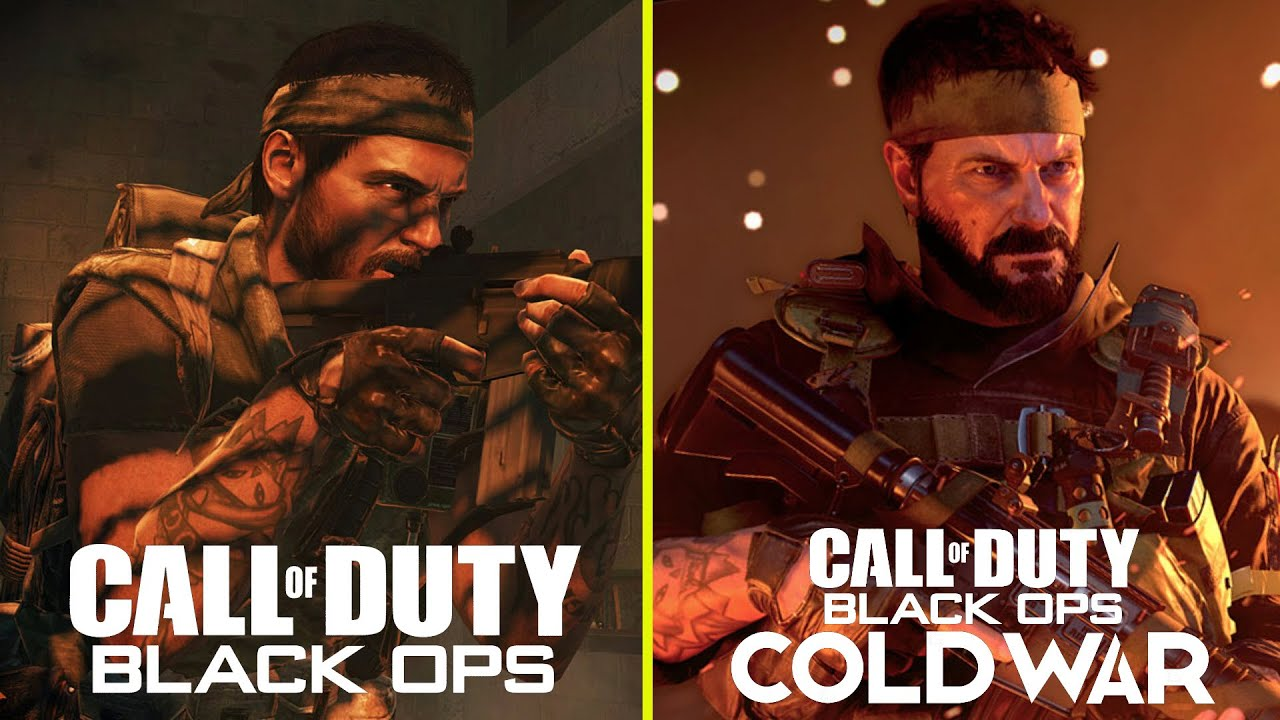Call Of Duty Black Ops Cold War Vs Black Ops 1 Returning Characters Early Models Comparison Youtube