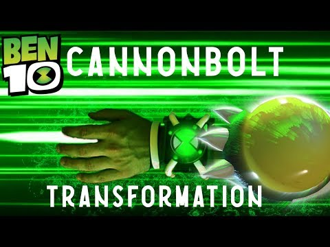 Ben 10 Cannonbolt Transformation REAL LIFE! Reboot