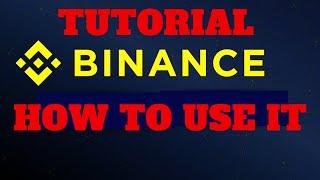 How to use a  Binance  Crypto Exchange Basic