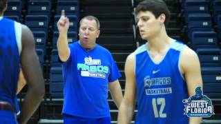 2015 UWF Men's Basketball Preseason Video