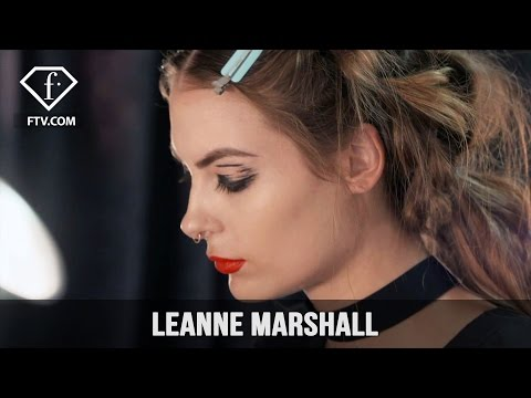 New York Fashion Week 2017/18 - Leanne Marshall Make Up | FashionTV