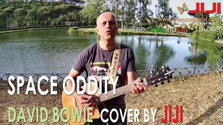 David Bowie - Space Oddity | Acoustic cover by Jiji @ Villa Ada (Rome, Italy)