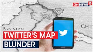 Twitter India Lands In Huge Political Row Over Geotag Showing Leh As Part Of China | CNN News18