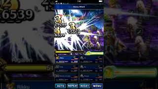 FFBE global machina of destruction ELT using 3 A2