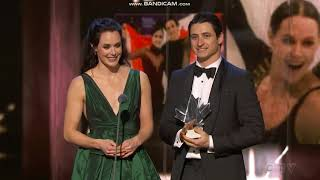 Tessa Virtue and Scott Moir at Canada's Walk of Fame (Montage and Speech)