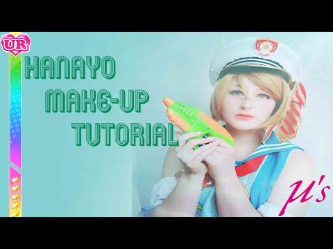 Hanayo Koizumi Makeup Tutorial LoveLive