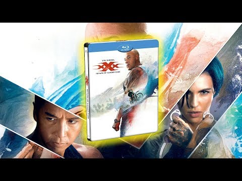 Unboxing xXx: Reactivated - Steelbook Blu-Ray streaming vf