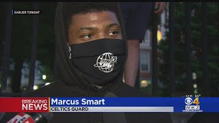 'We Want Justice': Celtics' Marcus Smart Participates In Boston March Protesting George Floyd's Deat