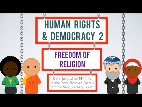 Human Rights & Democracy 2 - Freedom of Religion