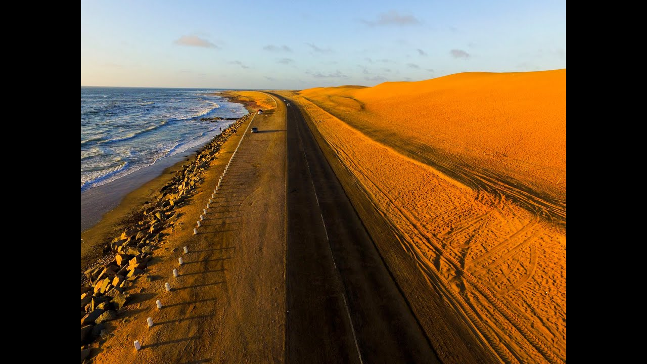 Namibia: beautiful sunsets and scenery | Закаты в Намибии ...