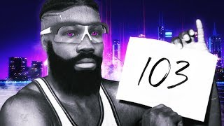 over 100 POINTS with PAINT BEAST! NBA 2K20 My Career Gameplay Best Center Build