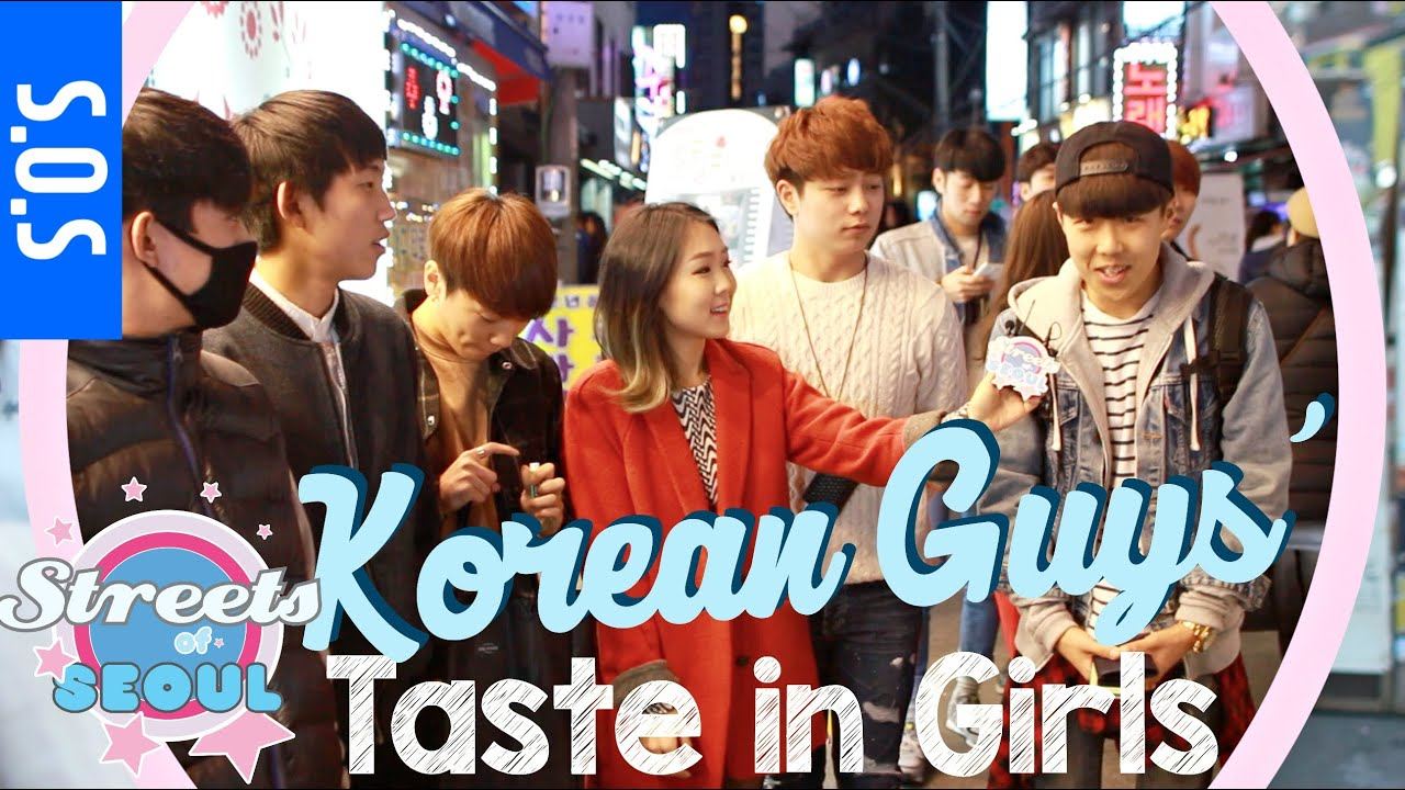 talk to korean guys
