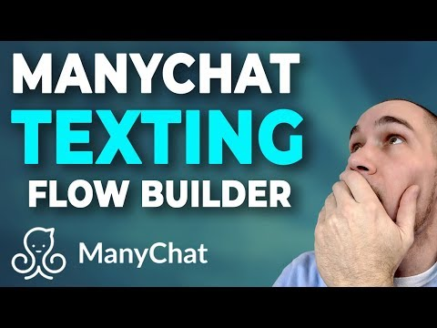 Using SMS In ManyChat Flow Builder & Triggering A Live Text Message