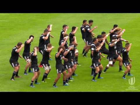 Amazing Haka at the World Rugby U20 Championship