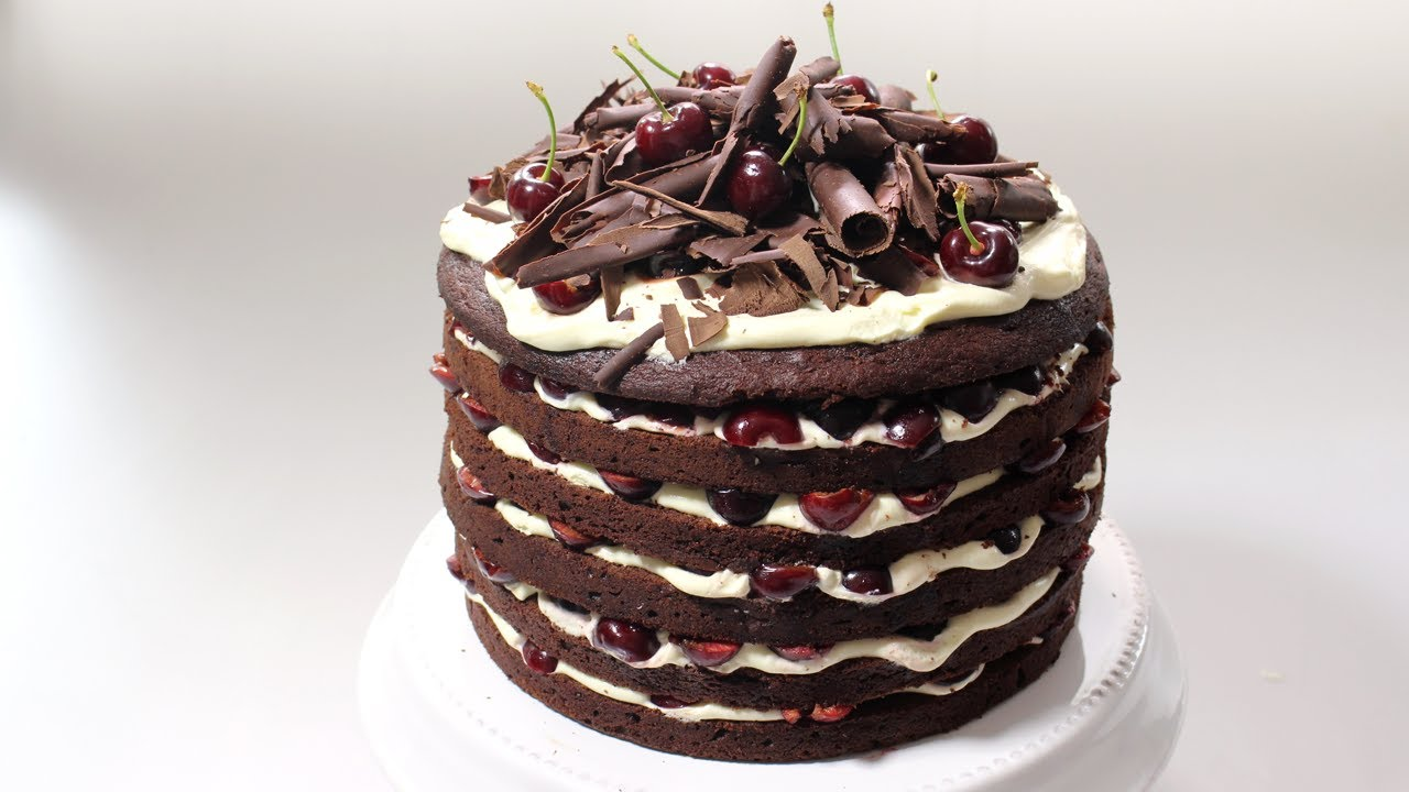 Black Forest Cake Recipe Woolworths Youtube