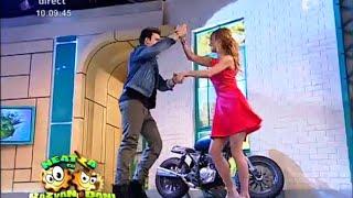 """Actorul Jencarlos Canela și """"vecina"""" Flavia au dansat salsa!"""