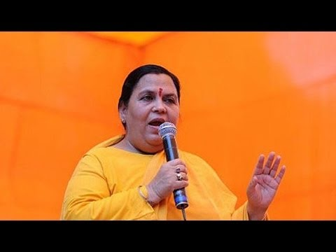 Uma Bharti likely to be fielded from Jhansi and Rae Bareli