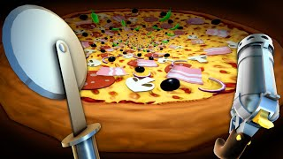 What If You Fell Into An Infinite Pizza? - 3 Random Games