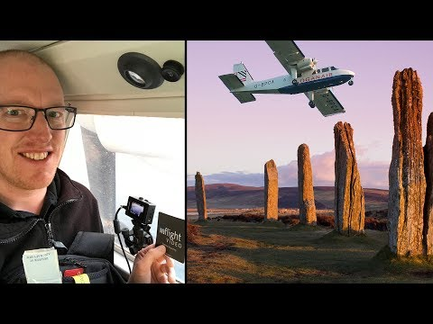 Behind The Scenes: Travelling to Orkney, Scotland for the World's Shortest Flight!