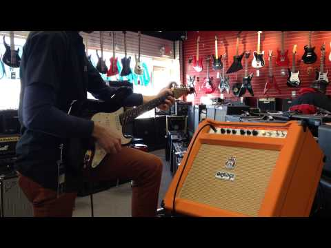 Orange Thunderverb TH30C 30W 1x12 Demo