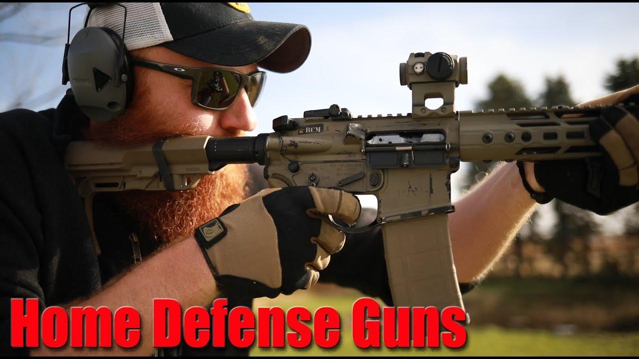My Home Defense Guns 2019