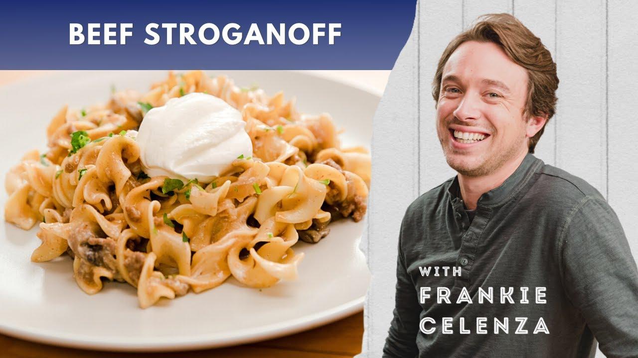 This Isn't Your Grandma's Beef Stroganoff