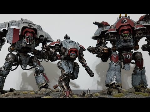 Imperial Knights vs Death Guard; 8th edition Warhammer 40k batrep